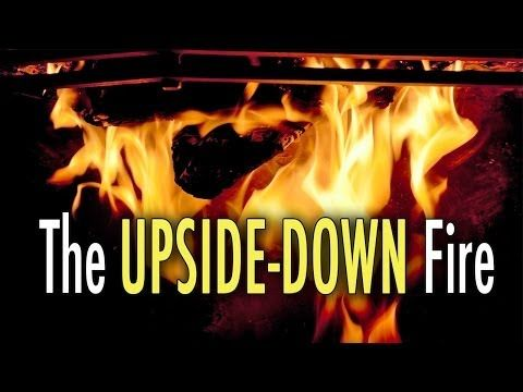 The Upside Down Fire (Best Fire Technique) - YouTube
