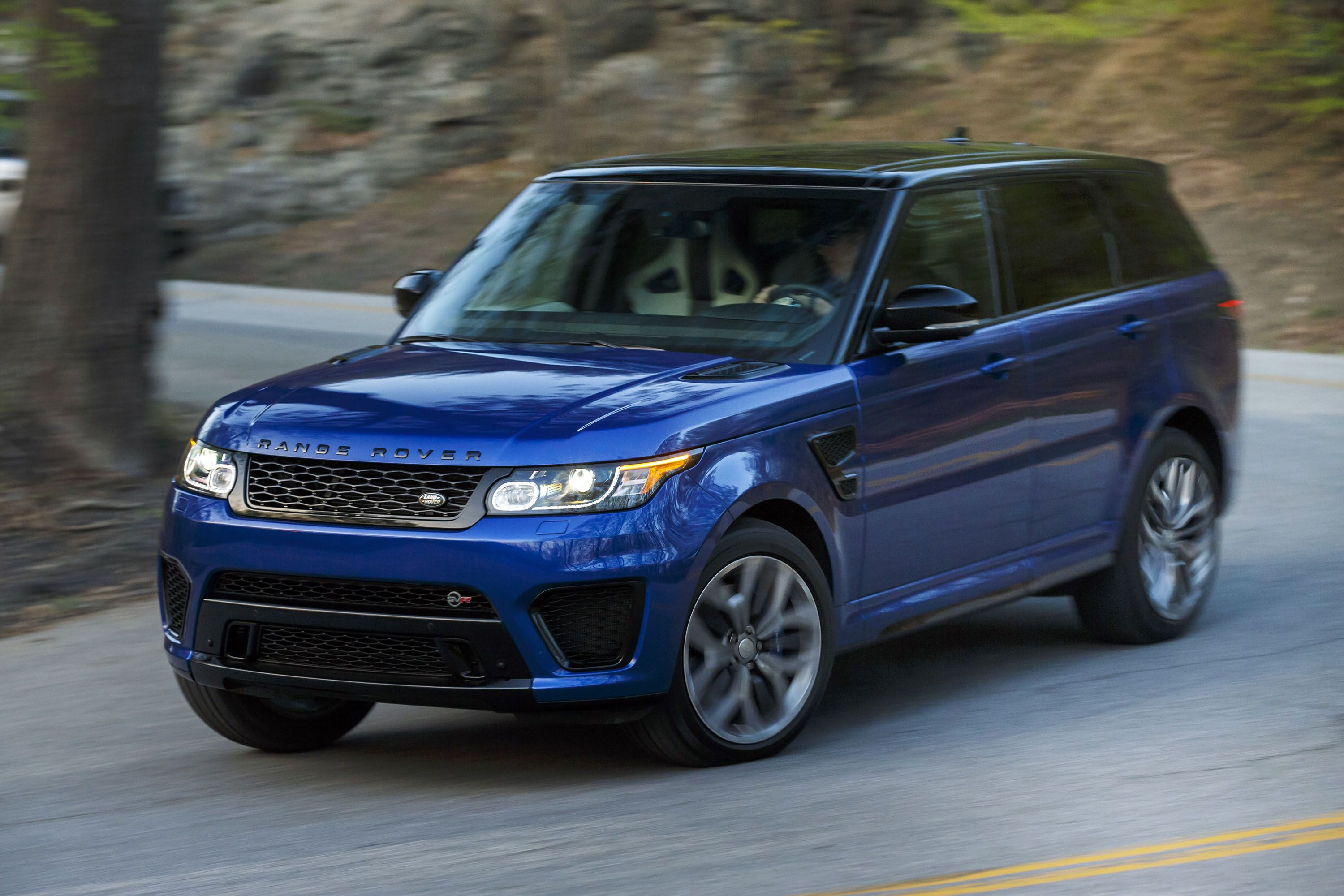 2015 Range Rover Sport SVR Official Photo Gallery