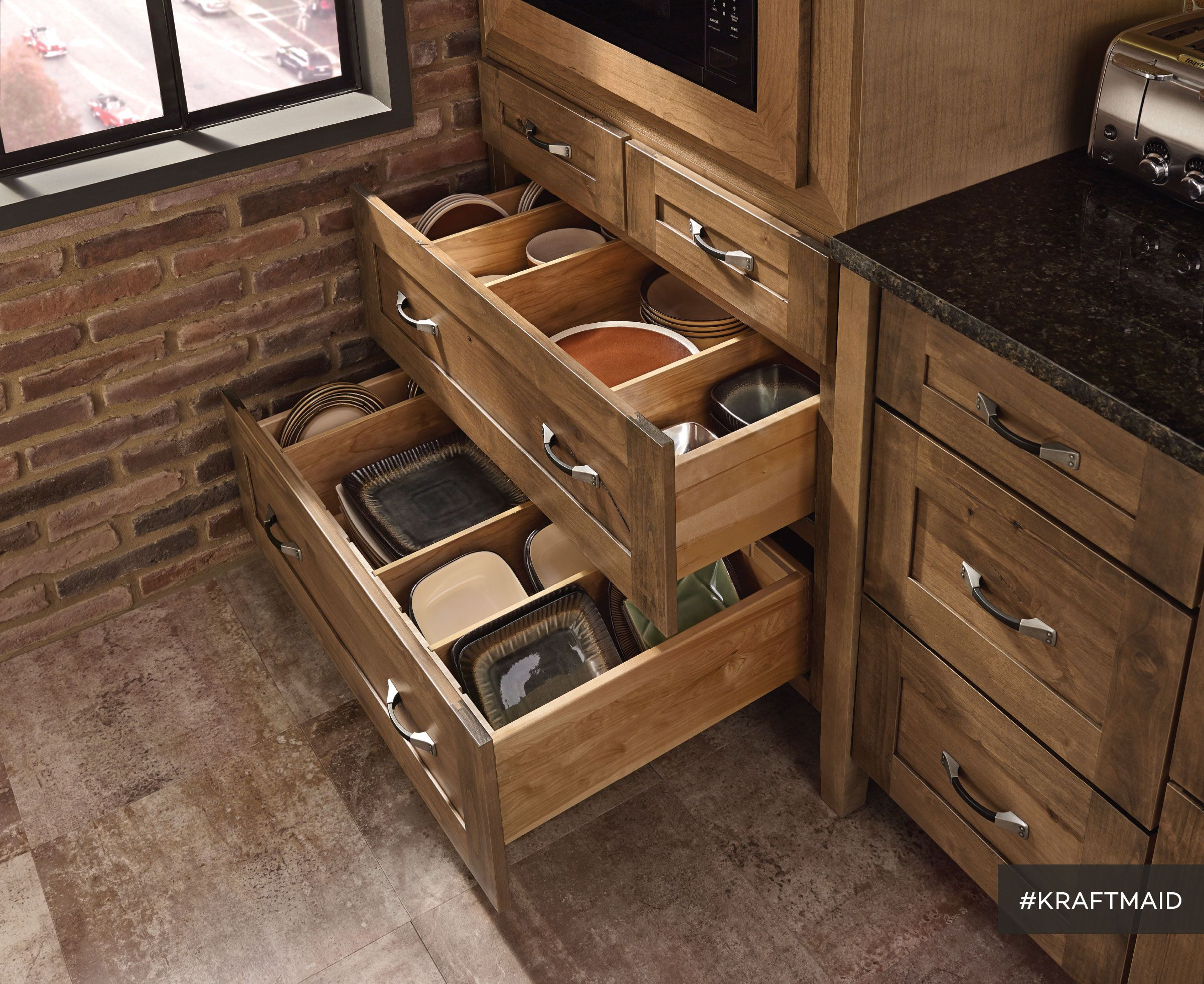 Single Kitchen Cabinet Drawer Kitchen Storage That Makes Every Pot Pan Dish Bowl And Small