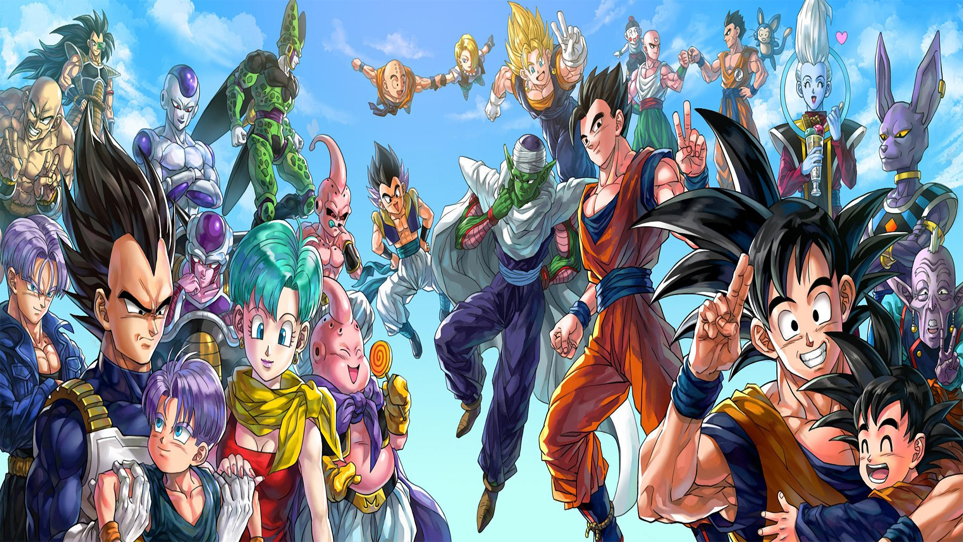 [1920x1080] Dragon Ball Characters Need iPhone 6S Plus