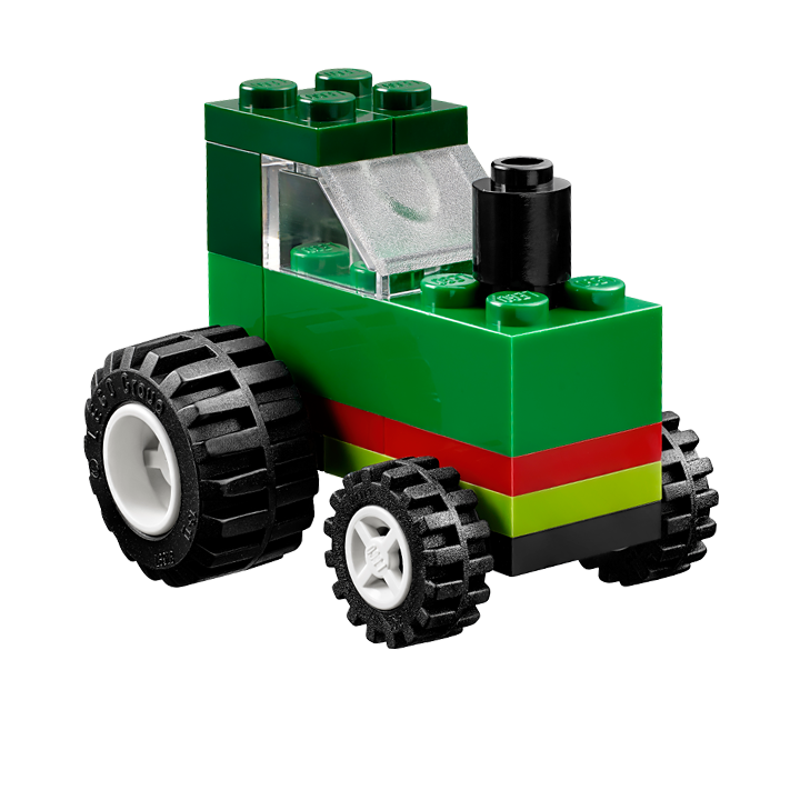 lego classic building instructions to download e g green tractor busy children. Black Bedroom Furniture Sets. Home Design Ideas