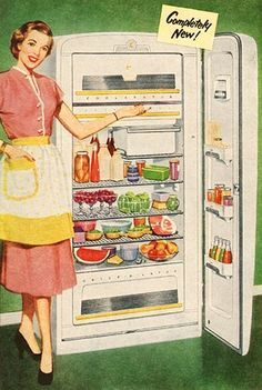 Vintage Refrigerator Ad