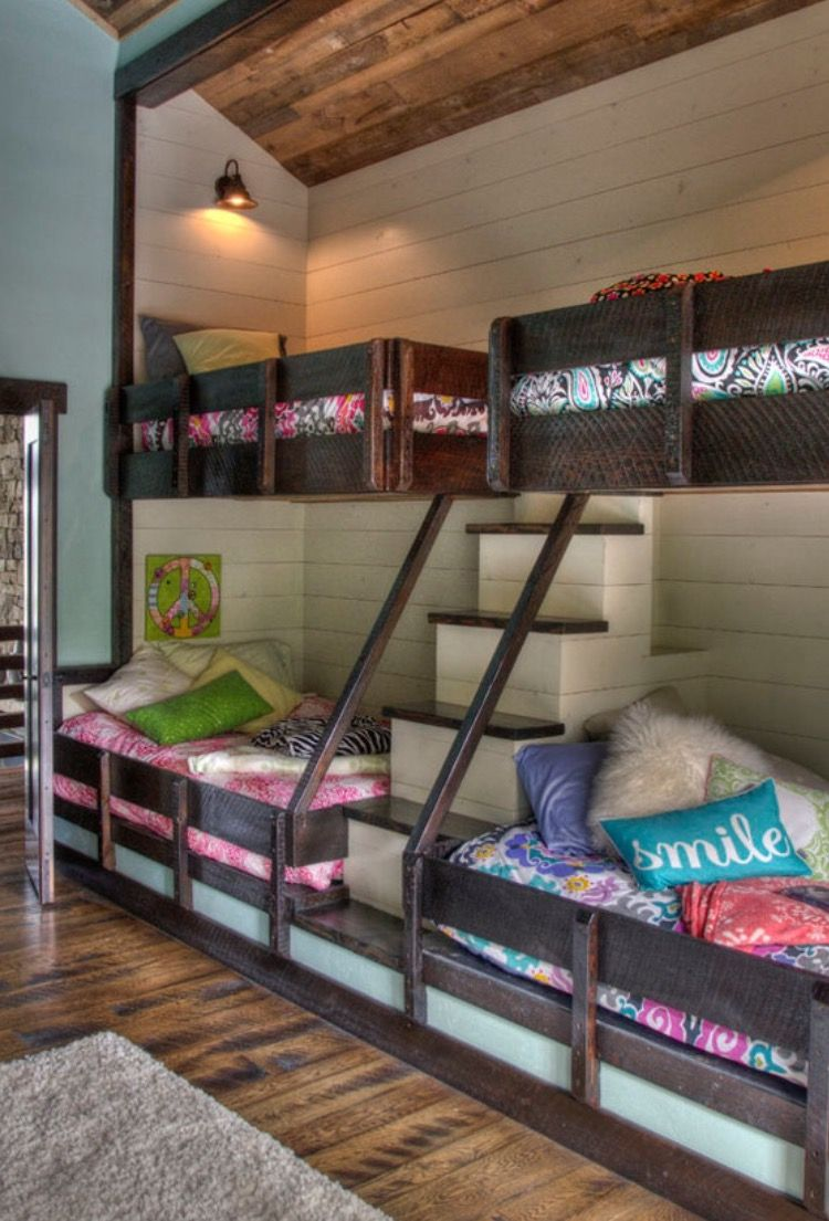 Creative loft bed ideas  Pin by Rebecca Davis on Creative  Pinterest  Bedrooms Bunk bed