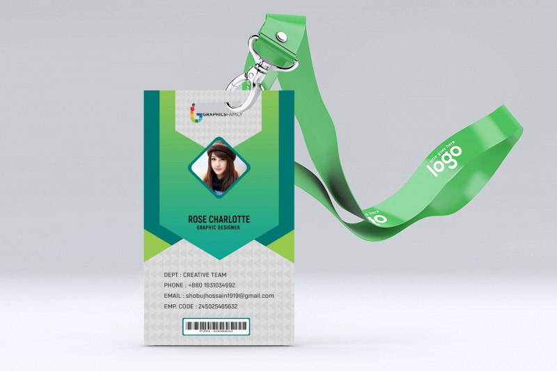 Name Card Photoshop Template Unique Modern Id Card Design Template Free Psd Free Business Card Templates Pop Up Card Templates Unique Business Cards