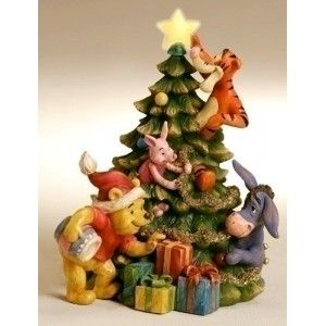 Tigger Christmas Ornaments.Pooh Eeyore Piglet Tigger Christmas Lighted Eeyore