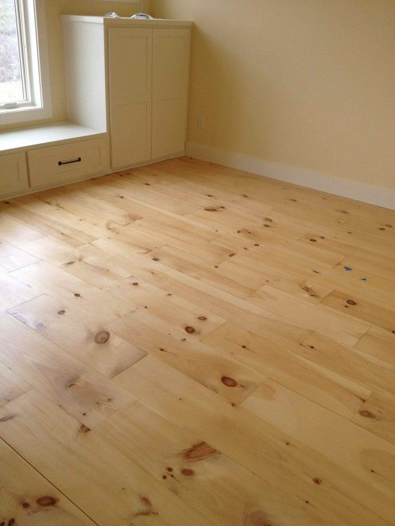 Amazing Unfinished Wide Plank Wood Flooring To Paint X X New England White Pine    Clover Lea