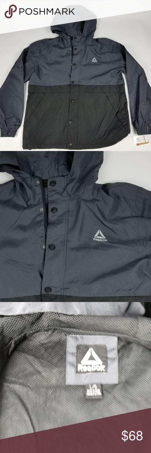 Reebok Men S Ombre Jacket Nwt Size Large Ombre Jackets Jackets Reebok [ 1740 x 580 Pixel ]