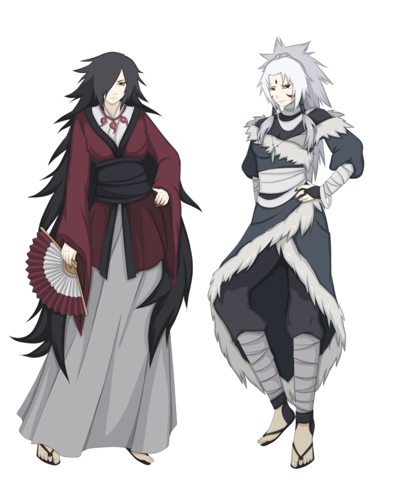 Uchiha and Senju moms by FireEagleSpirit on DeviantArt