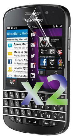 Exian Anti Glare Screen Protector For Blackberry Q10 - 2