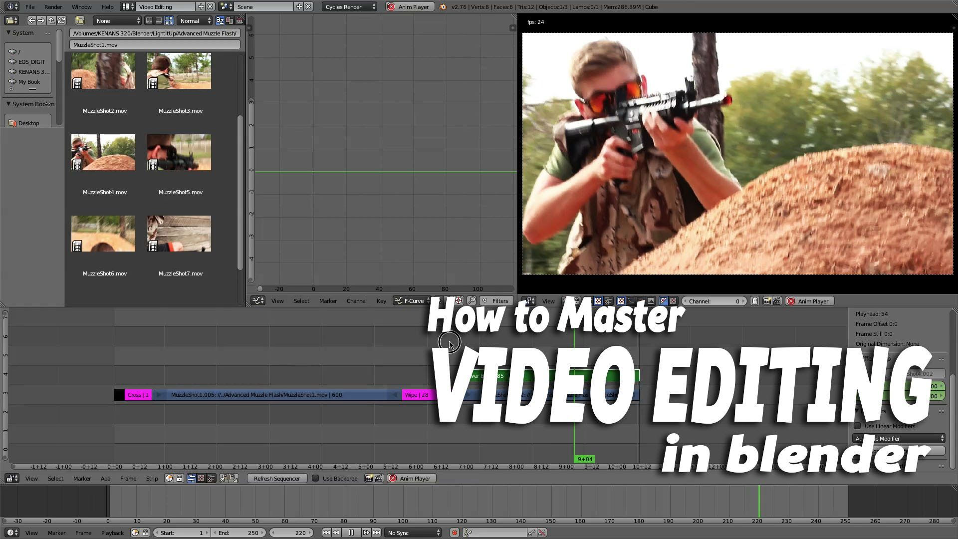 How to Master Video Editing in Blender. Video editing