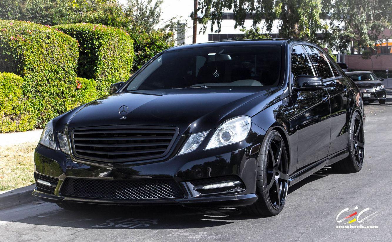 Murdered Black Mercedes Benz E350 W212 Black Mercedes Benz