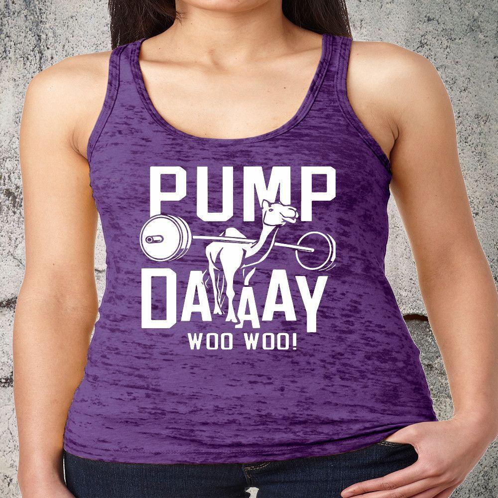 0e8b59a0 Pump Day Camel Lifting Exercise Burnout Workout Tank Top. Gym Tank Top.  Running Tank. Fitness Tank.Yoga Shirt. Fitness Shirt. Burnout