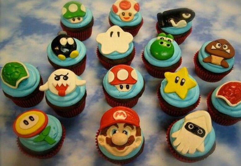 Mario Cupcakes !!!