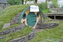 How To Build A Hobbit Cubby House For Kids Google Search