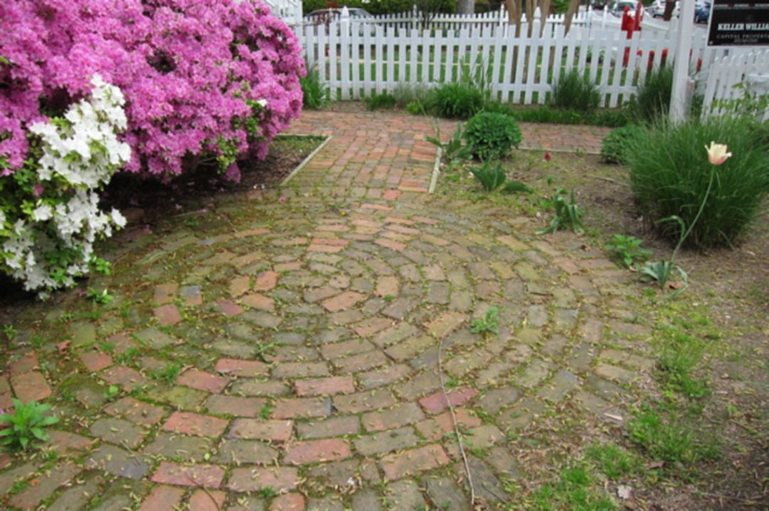 80 Awesome Brick Patterns Patio Ideas For Beautiful Yard | Side ...