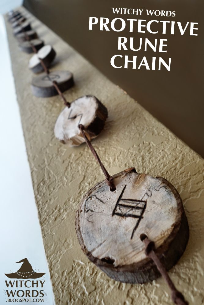 Protective Rune Chain House Cleansing Part 1 Runes Chains And House