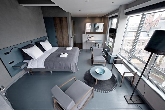 Groningen Möbel asgard hotel penthouses by design mind and henk bakker if