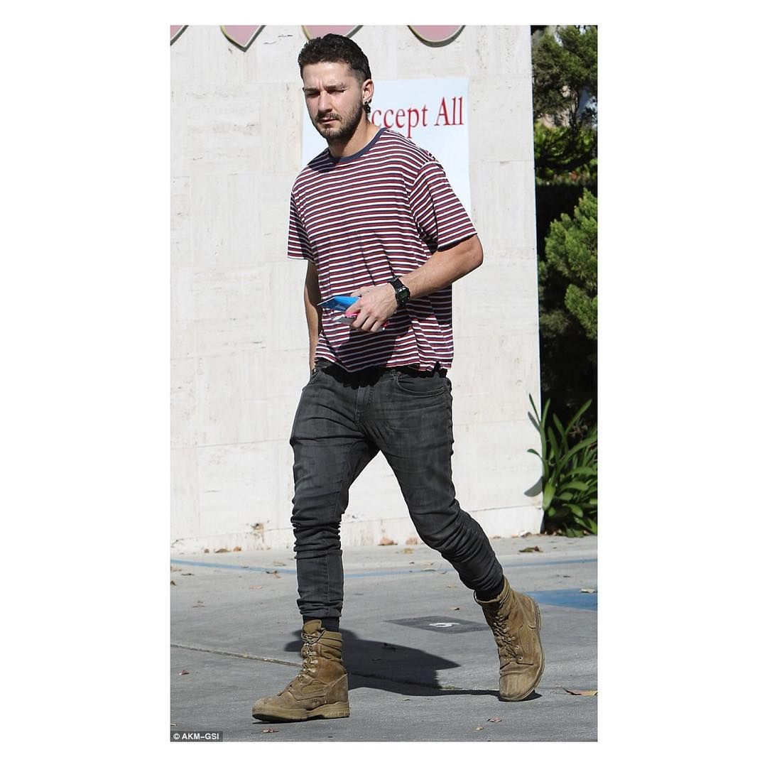 Shia LaBeouf Style Outfits, Fashion colours, Street style