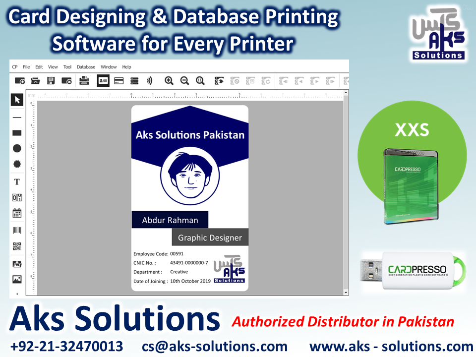 Cardpresso Xxs Card Designing Database Printing Software For Every Printer Features Card Templates Wia Twai With Images Printing Software Card Design Card Printer