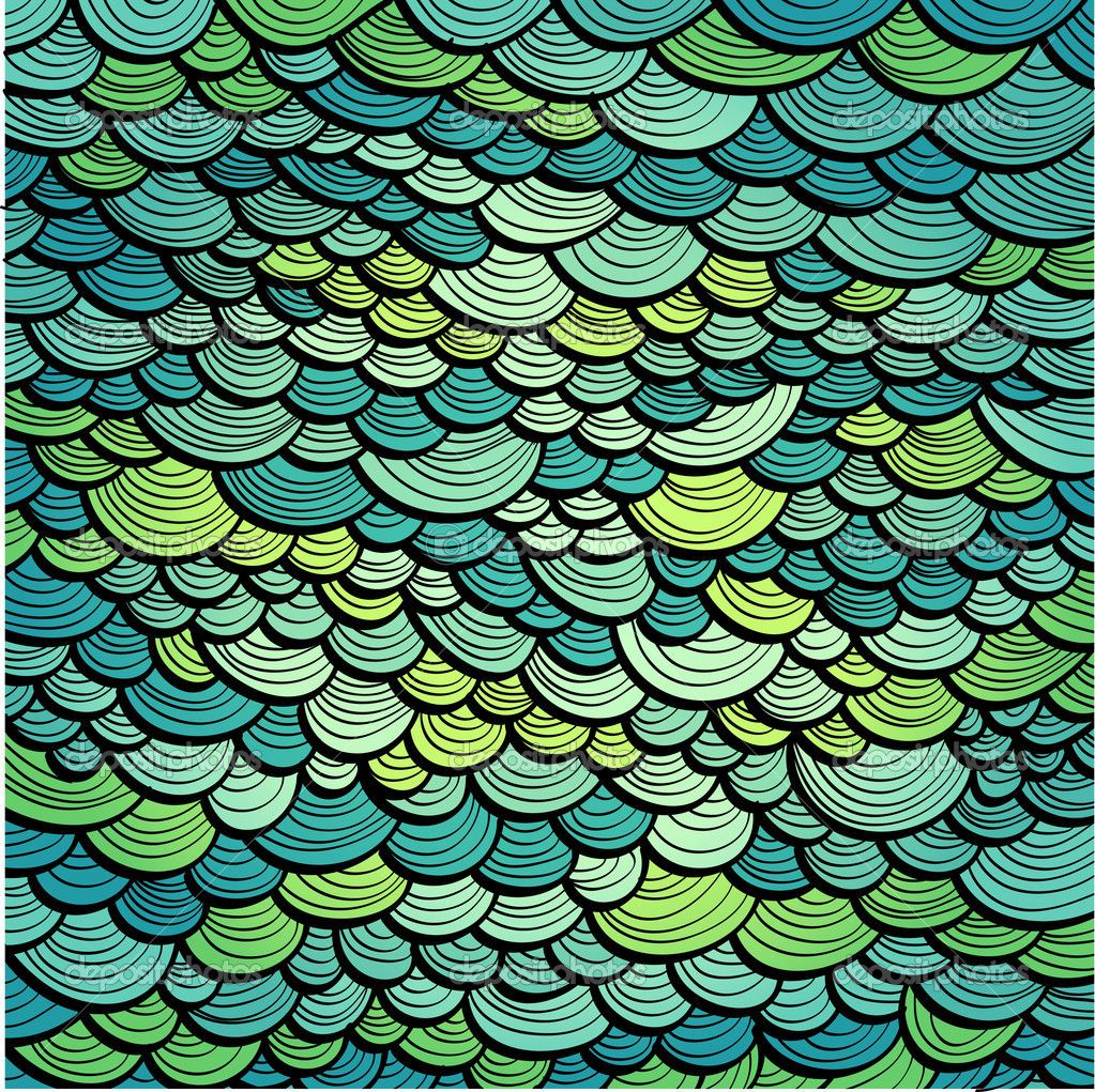 Abstract green marine background imitating fish scales for Fish scale wallpaper