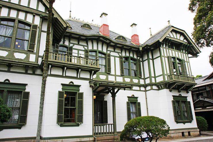 辰野金吾のアールヌーヴォー 旧松本健次郎邸 現代日本建築 明治