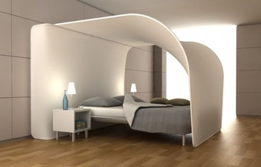 Cocoon Bed in Contemporary Bedroom Furniture Love Pinterest