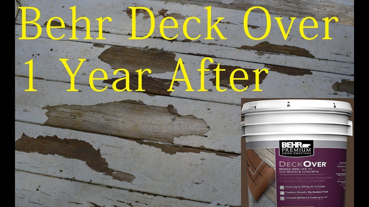Pin On Behr Paint Is Peeling On Deck After One Year