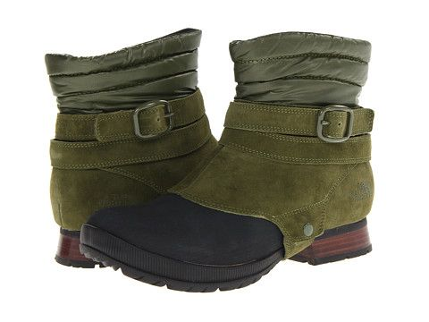 The North Face Zophia Mid The North Face- Grecian Green/Tnf Black boots
