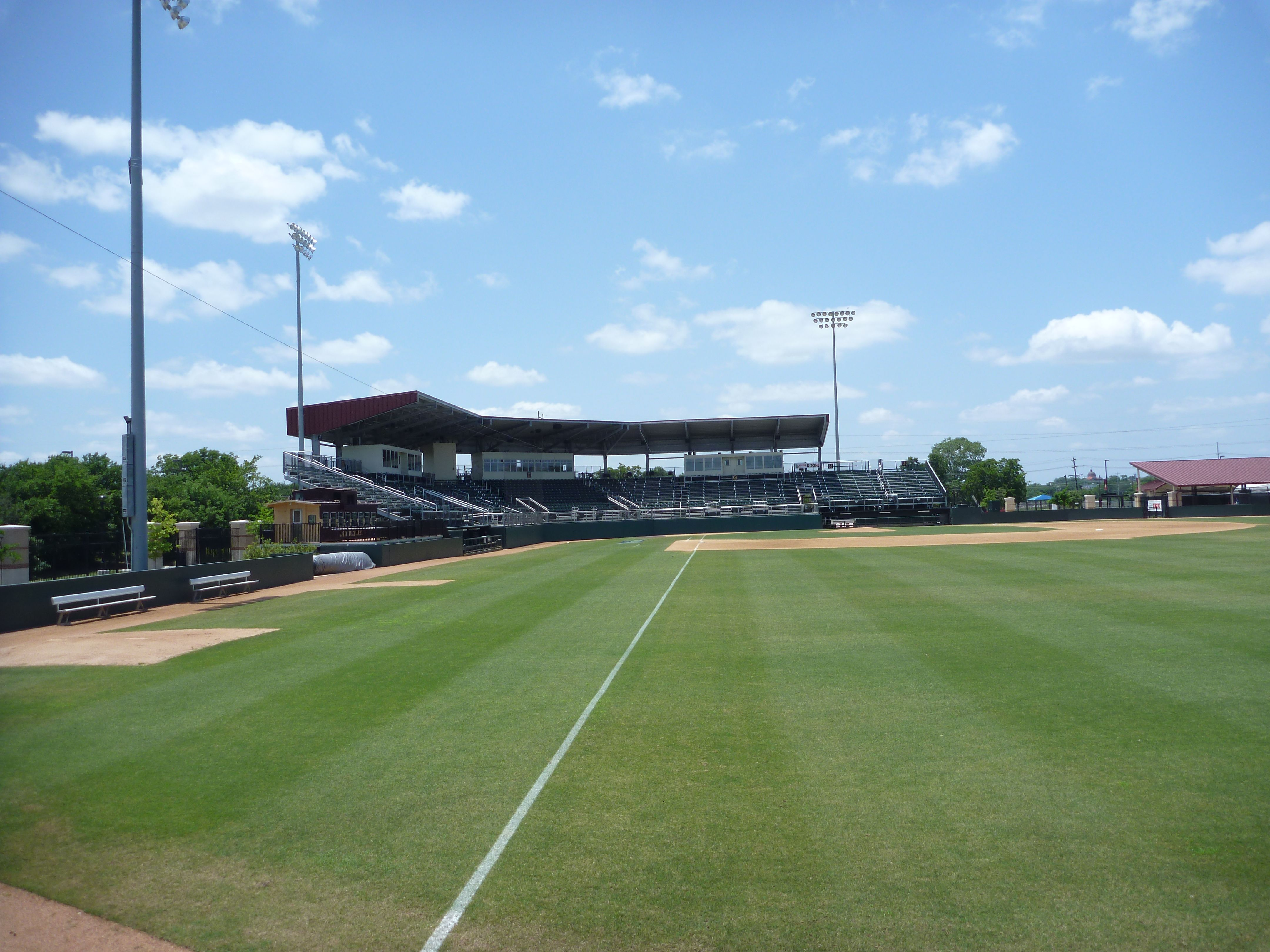 Texas State University S Bobcat Field In San Marcos Tx Picture Taken On 5 28 12 No Game Texas State University Field College Baseball