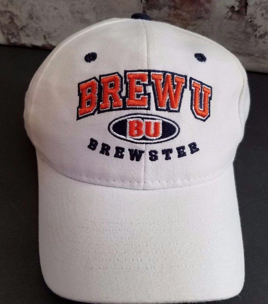 purchase cheap e4bac ab99a Vintage BREW U Brewster Hat Zephyr white cap snapback  Zephyr  BaseballCap