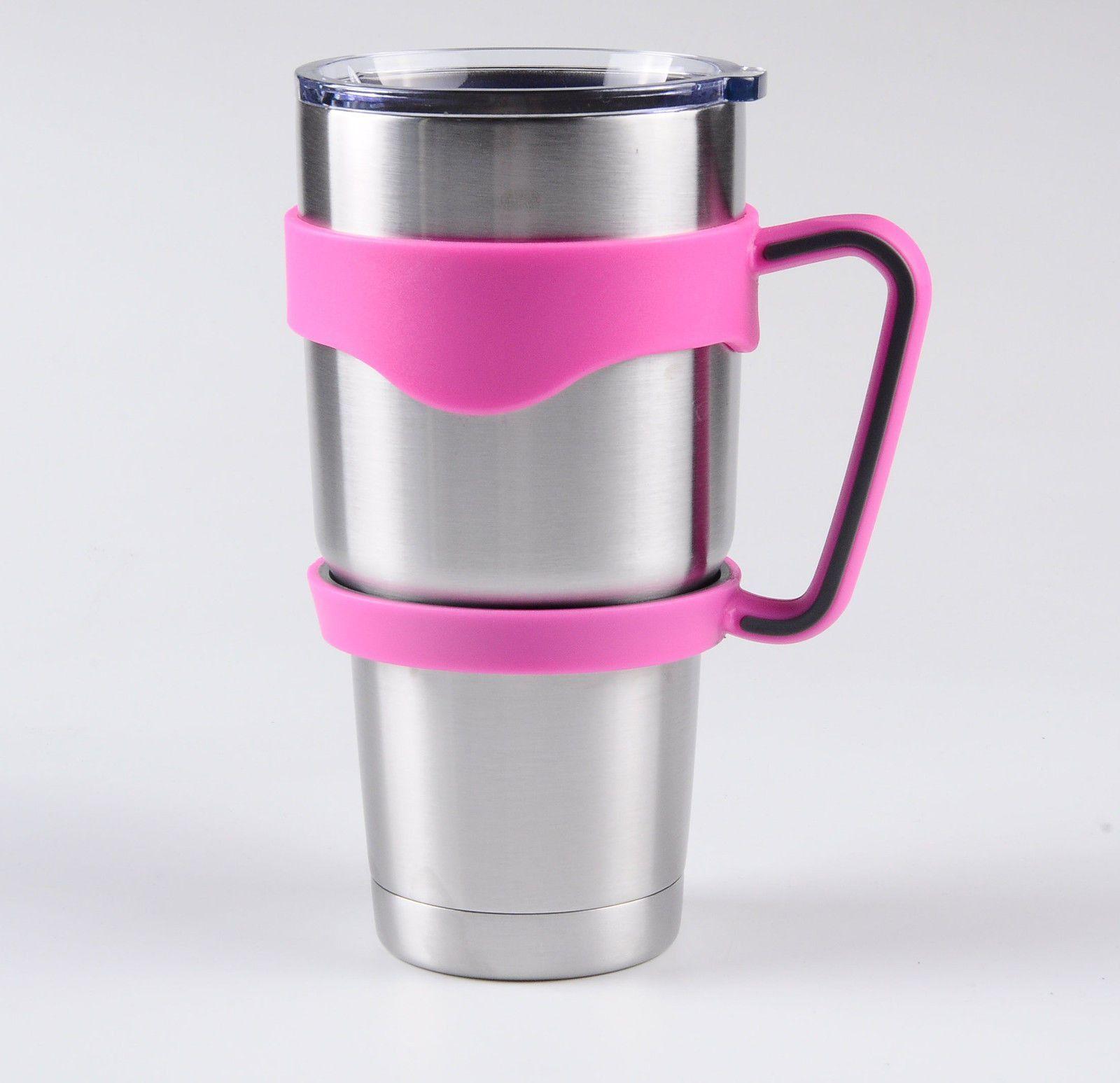 Blue Pink Chiller Water Bottle Handle For Yeti Rambler 30