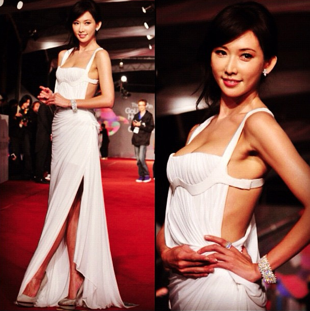 Lin-chi Ling in Atelier Versace.
