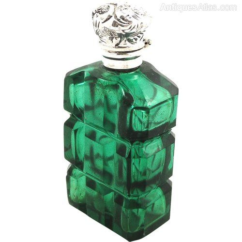 Antiques Atlas Antique Silver & Emerald Green Glass