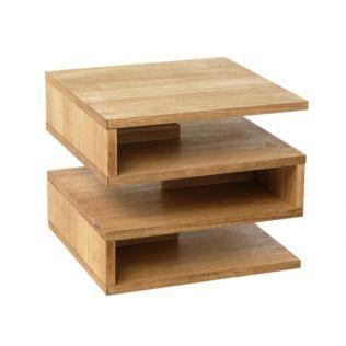 Bout de canapé Chêne - Zig - Les bouts de canapés - Tables basses et consoles - Tous les meubles - Décoration d'intérieur - Alinéa