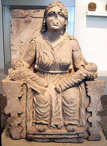 Escultura helenística Mater Matuta