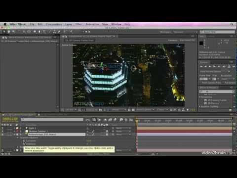 The 3d Camera Tracker From Adobe After Effects Cs6 Learn By Video