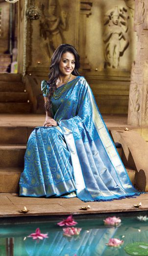 6252ee73ce pothys samudrika pattu | silk sarees | Saree, Silk sarees, Indian ...