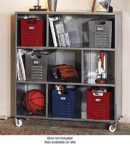 280 Locker 3 Shelf Bookcase Ping Great Deals On Media Bookshelves