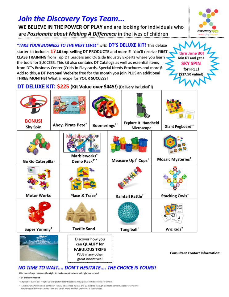 Join Our Team Discovery Toys Personal Website Learning
