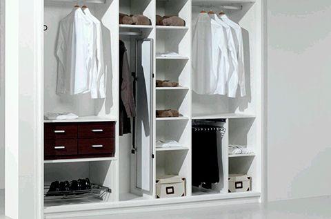 Como distribuir el armario por dentro | Hogar 10 | Pinterest ...