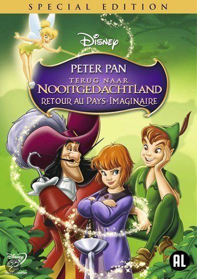 Peter Pan Terug Naar Nooitgedachtland Met Afbeeldingen Nooitgedachtland Kinderfilms Animatiefilms