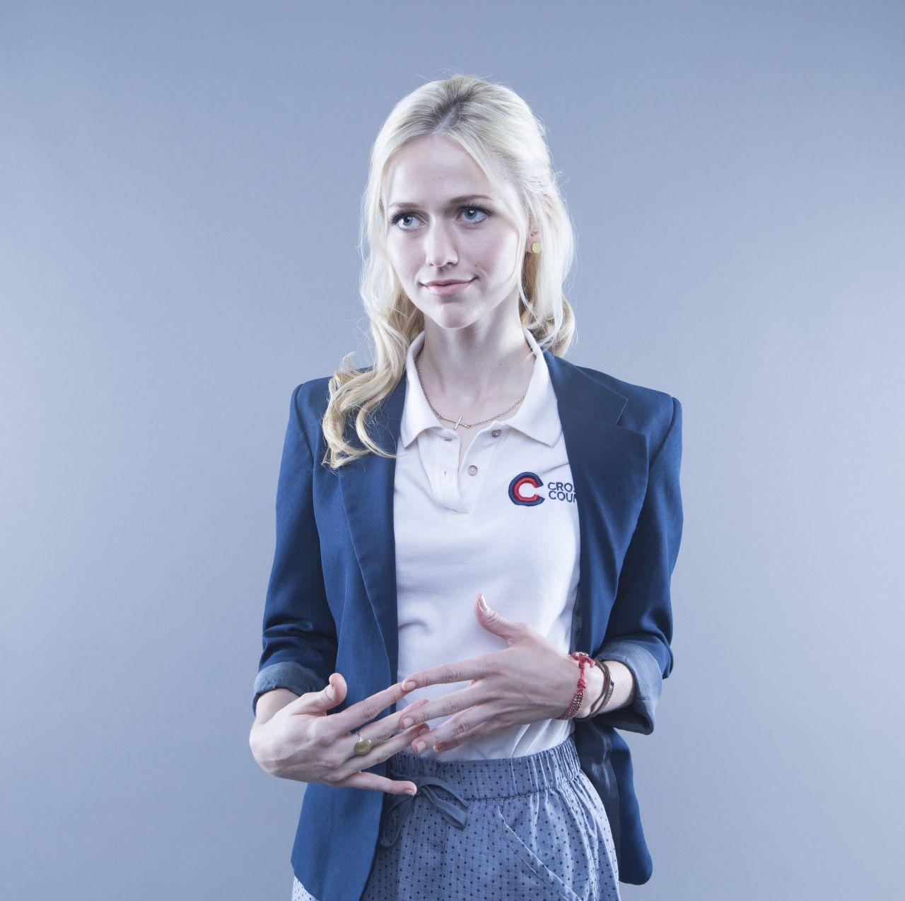 Johanna Braddy, please. : Photo