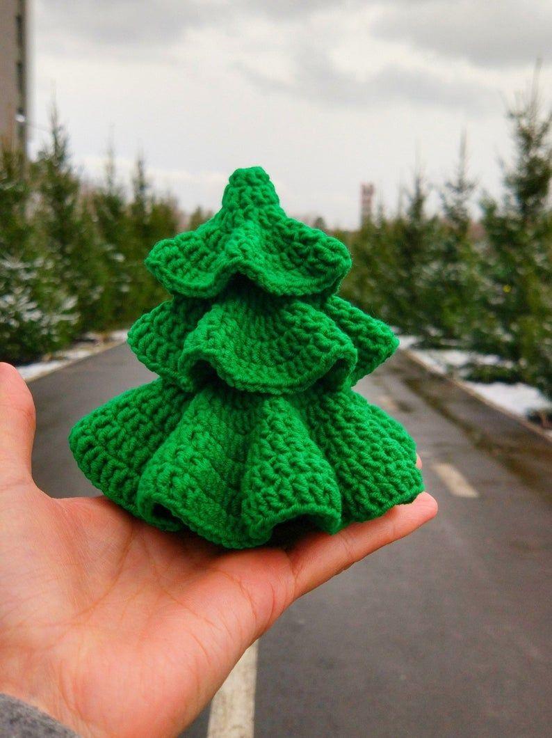 Crochet Christmas Tree Pattern Amigurumi Christmas tree