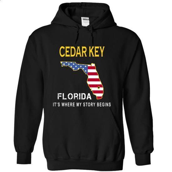 CEDAR KEY - Its Where My Story Begins - #lace tee #white sweatshirt. ORDER HERE => https://www.sunfrog.com/States/CEDAR-KEY--Its-Where-My-Story-Begins-qdawt-Black-14675461-Hoodie.html?68278