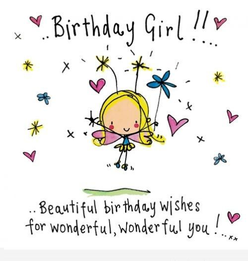 Terrific Happy Birthday Wishes For Girls Birthday Wishes Images And Birthday Cards Printable Giouspongecafe Filternl