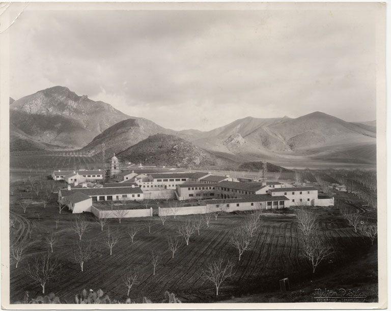 Camarillo state hospital south quad circa 1940