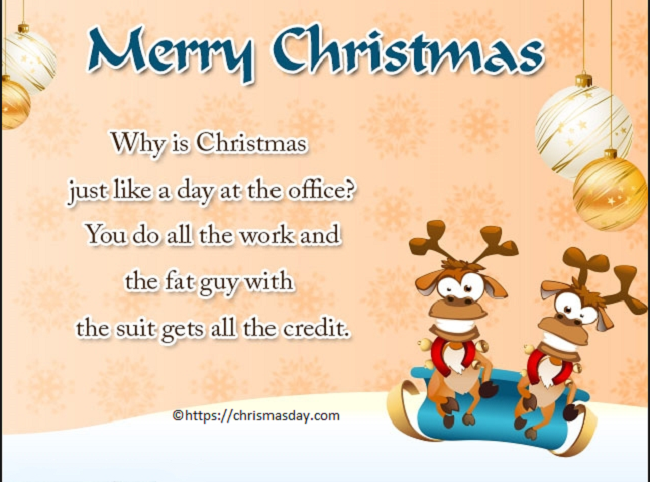 Funny Quotes About Christmas Day 2018 Latest