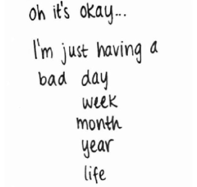 Sad Depressing Quotes Suicidal: But Today Was Unusually Bad