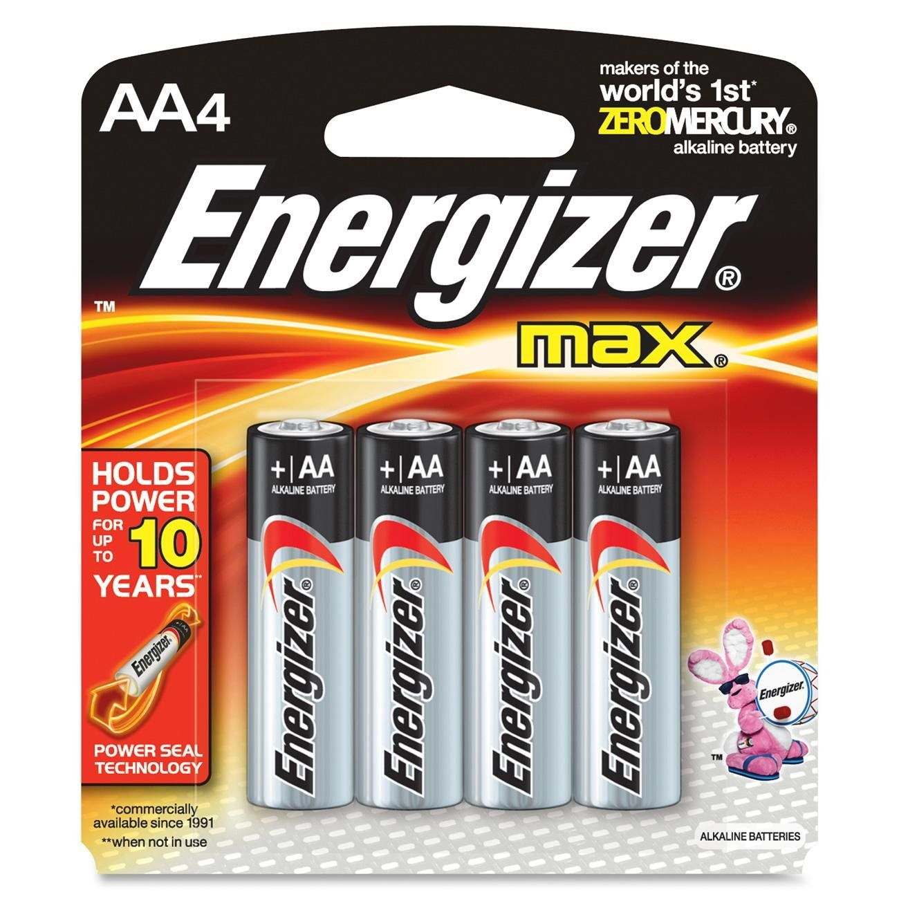 4 Pk, AA Energizer Max Battery Energizer battery