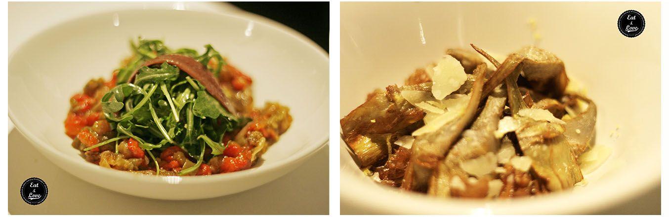 Primeros menú Myveg restaurante verduras Madrid